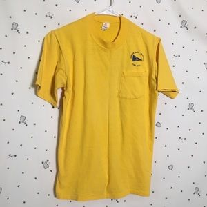 Vintage Yacht Club T-shirt- Single Stitch